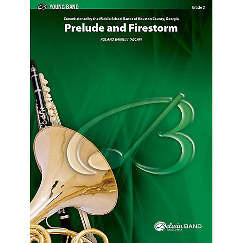 Alfred Prelude and Firestorm Concert Band Grade 2 Set