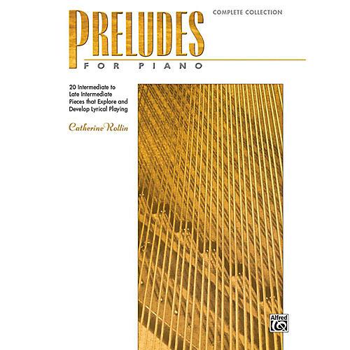 Alfred Preludes for Piano: Complete Collection - Book Intermediate / Late Intermediate