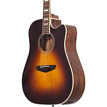 D'Angelico Premier Delancey Cutaway Dreadnought Acoustic-Electric Guitar