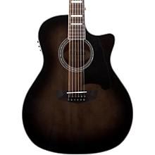Premier Fulton 12-String Acoustic-Electric Guitar Grey Black