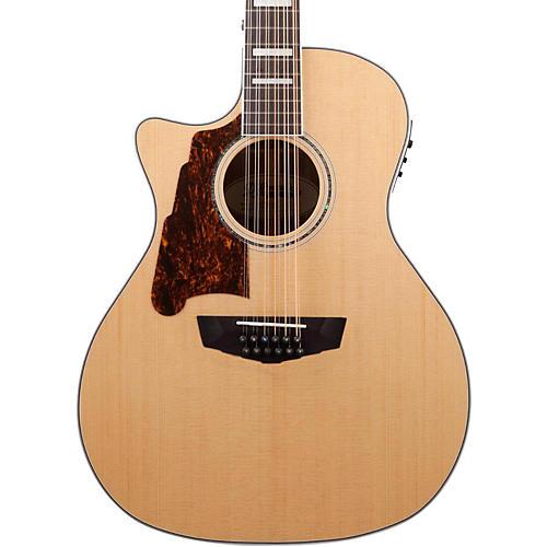 D'Angelico Premier Fulton Left Handed 12-String Acoustic-Electric Guitar-thumbnail
