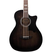 Premier Mott Acoustic-Electric Bass Guitar Grey Black