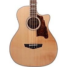 Premier Mott Acoustic-Electric Bass Guitar Natural