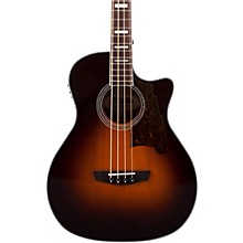 Premier Mott Acoustic-Electric Bass Guitar Sunburst