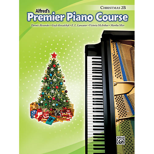 Alfred Premier Piano Course Christmas Book 2B-thumbnail