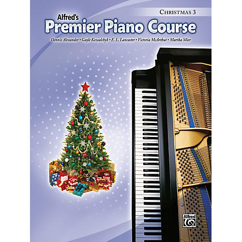 Alfred Premier Piano Course Christmas Book 3-thumbnail