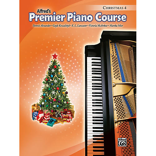 Alfred Premier Piano Course Christmas Book 4