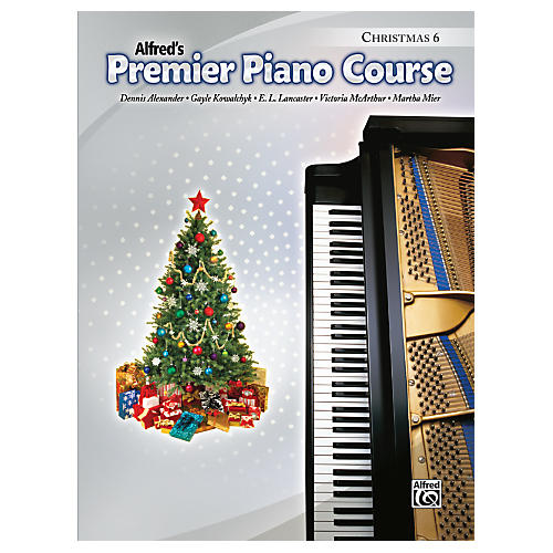 Alfred Premier Piano Course Christmas Book 6-thumbnail