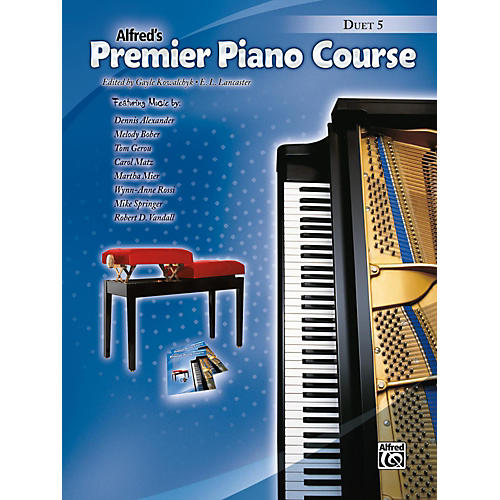 Alfred Premier Piano Course, Duet 5 Book Level 5-thumbnail