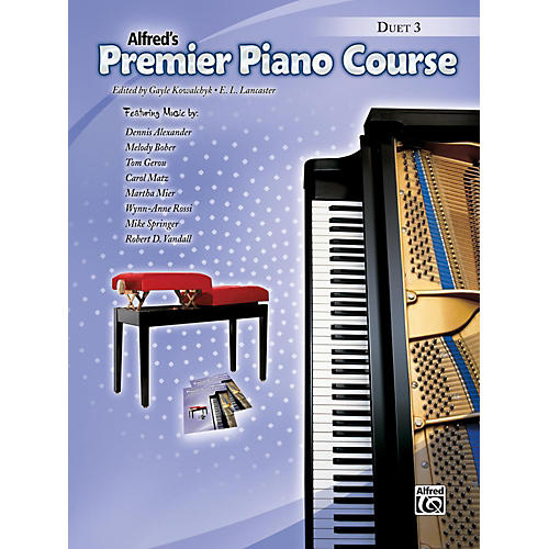 Alfred Premier Piano Course, Duet Book 3-thumbnail