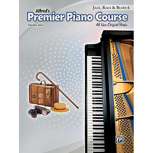 Alfred Premier Piano Course, Jazz, Rags & Blues - Book 6-thumbnail