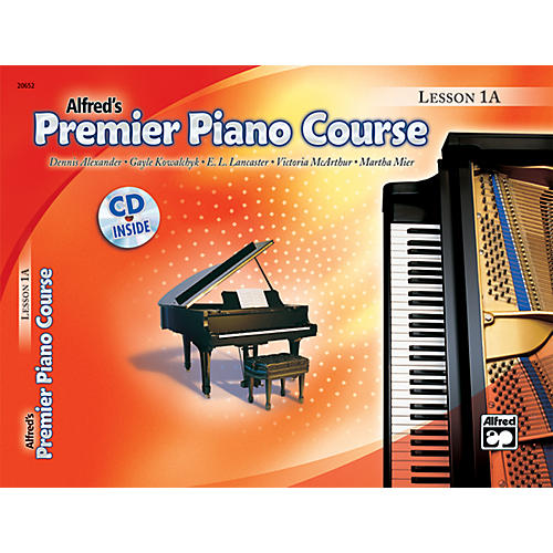Alfred Premier Piano Course Lesson Book 1A  Book 1A & CD-thumbnail