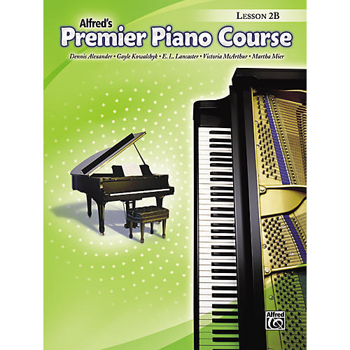 Alfred Premier Piano Course Lesson Book 2B