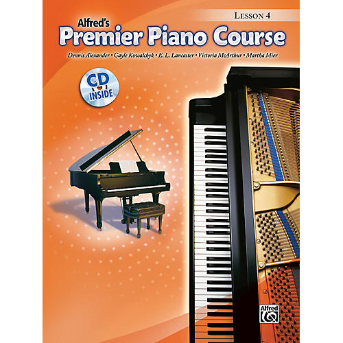 Alfred Premier Piano Course Lesson Book 4 Book 4 & CD-thumbnail