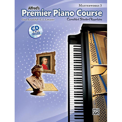 Alfred Premier Piano Course: Masterworks Book 3 & CD-thumbnail