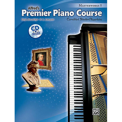 Alfred Premier Piano Course: Masterworks Book 5 & CD-thumbnail