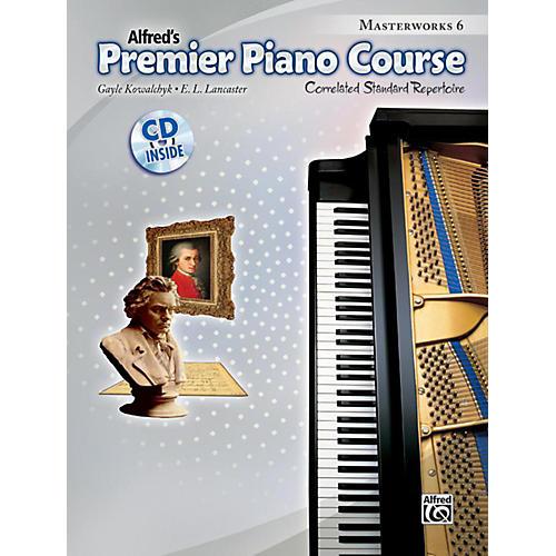 Alfred Premier Piano Course Masterworks Book 6 & CD