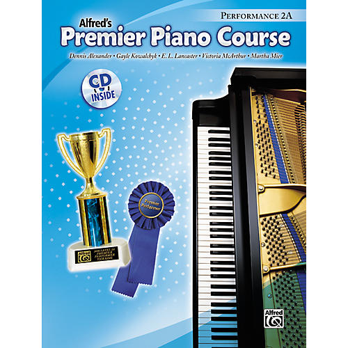 Alfred Premier Piano Course Performance Book 2A Book 2A & CD-thumbnail