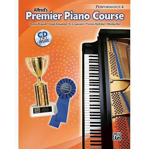 Alfred Premier Piano Course Performance Book 4 Book 4 & CD-thumbnail