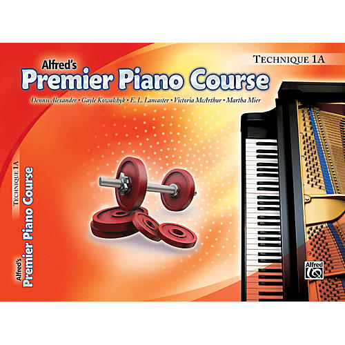 Alfred Premier Piano Course Technique Book 1A-thumbnail