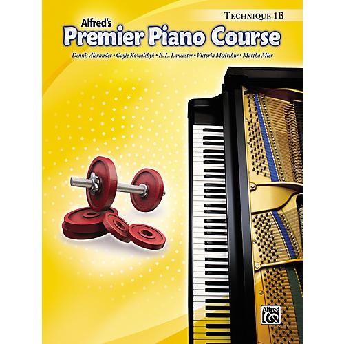 Alfred Premier Piano Course Technique Book 1B