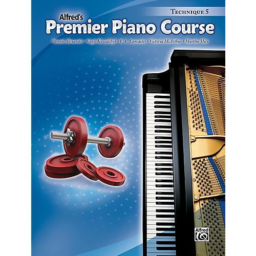 Alfred Premier Piano Course Technique Book 5-thumbnail