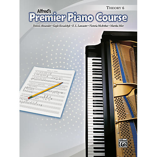 Alfred Premier Piano Course Theory Book 6-thumbnail