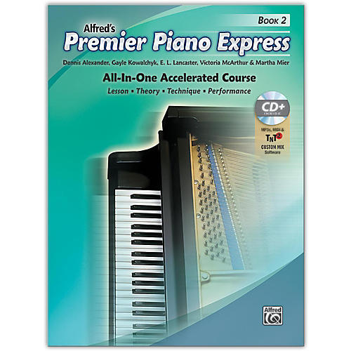 Alfred Premier Piano Express Book 2 Book CD & Online Audio & Software Level 2-thumbnail