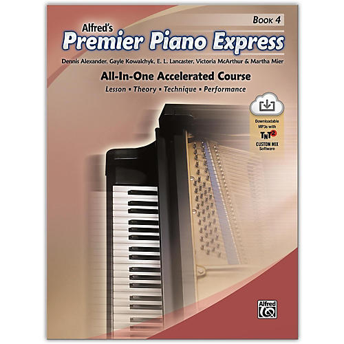 Alfred Premier Piano Express, Book 4 Book & Online Audio & Software Level 5-6