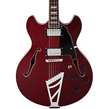 D'Angelico Premier Series DC Semi-Hollowbody Electric Guitar with Stairstep Tailpiece