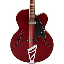 Premier Series EXL-1 Hollowbody Electric Guitar with Stairstep Tailpiece Transparent Wine