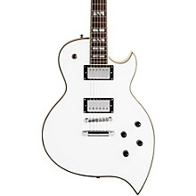 Premier Series Teardrop Solidbody Electric Guitar White