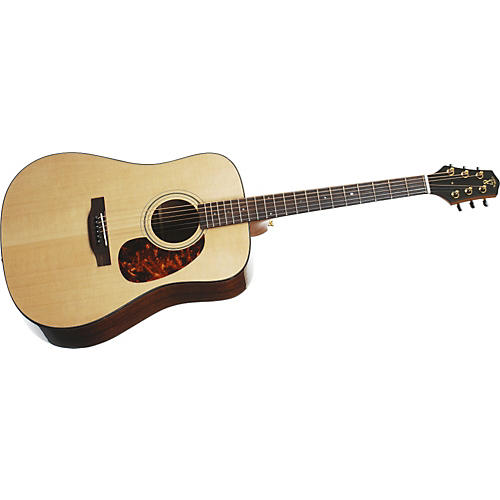 Voyage Air Premier Series VAD-1 Full-Size Folding Dreadnought Acoustic Guitar Natural