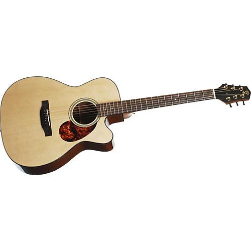 Voyage Air Premier Series VAOM-1C Full-Size Folding Orchestra Model Acoustic Guitar