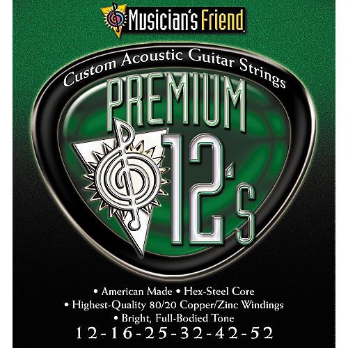 Musician's Friend Premium 12's Acoustic 3-pack