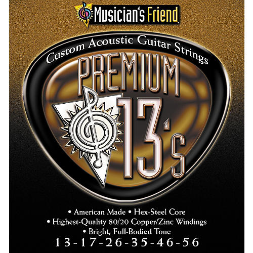 Musician's Friend Premium 13s Acoustic 10-pack