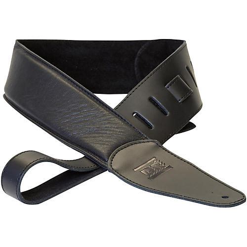 DR Strings Premium Glove Leather Guitar Strap with Suede Interior-thumbnail