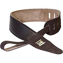 DR Strings Premium Glove Leather Guitar Strap with Suede Interior