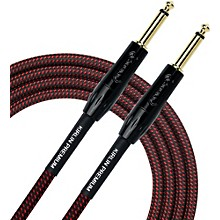 KIRLIN Premium Plus Instrument Cable with Black/Red Woven Jacket