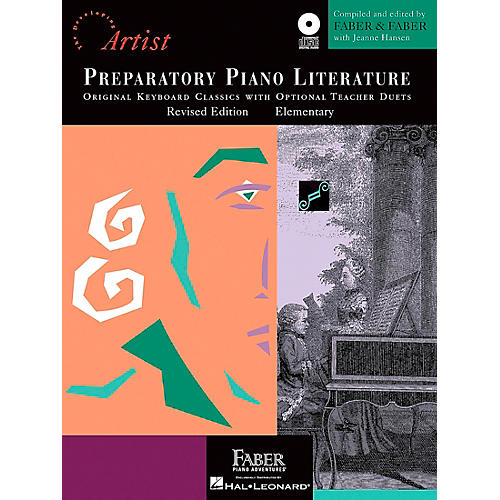 Faber Piano Adventures Preparatory Piano Literature - Developing Artist Original Keyboard Classics Book/CD Faber Piano-thumbnail