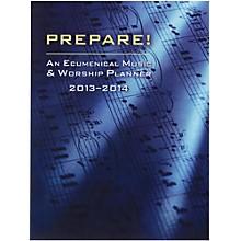 Carl Fischer Prepare! 2013-2014 Worship Services Planner (Book)