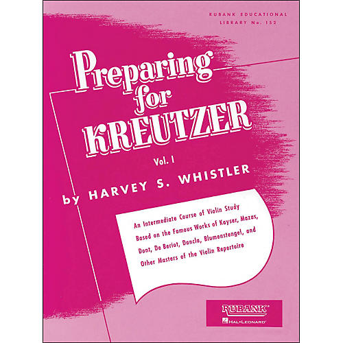 Hal Leonard Preparing for Kreutzer Vol 1