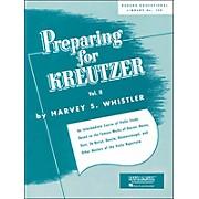 Hal Leonard Preparing for Kreutzer Vol 2 Violin Methods And Studies