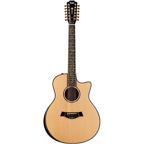 Taylor Presentation Series 2014 PS56ce 12-String Grand Symphony Acoustic-Electric Guitar-thumbnail