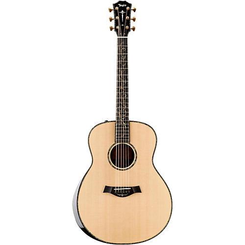Taylor Presentation Series 2015 PS18e Grand Orchestra Macassar Ebony Acoustic-Electric Guitar