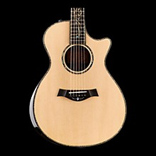Taylor Presentation Series PS12ce Dreadnought Macassar Ebony Acoustic-Electric Guitar
