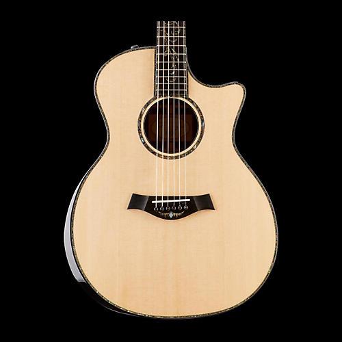 Taylor Presentation Series PS14ce Grand Auditorium Macassar Ebony Acoustic-Electric Guitar-thumbnail