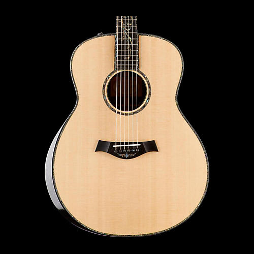 Taylor Presentation Series PS18e Grand Orchestra Macassar Ebony Acoustic-Electric Guitar-thumbnail