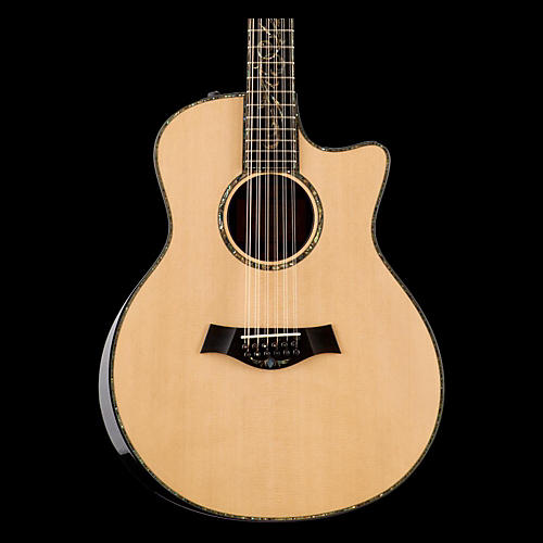 Taylor Presentation Series PS56ce Grand Symphony Macassar Ebony Acoustic-Electric 12-String Guita-thumbnail