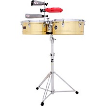 LP Prestige Series Brass Timbales
